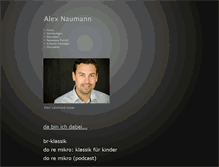 Tablet Preview of alexander-naumann.de